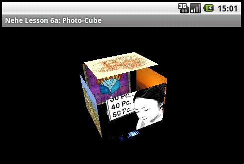 Android 3D with OpenGL ES with Nehe's Port