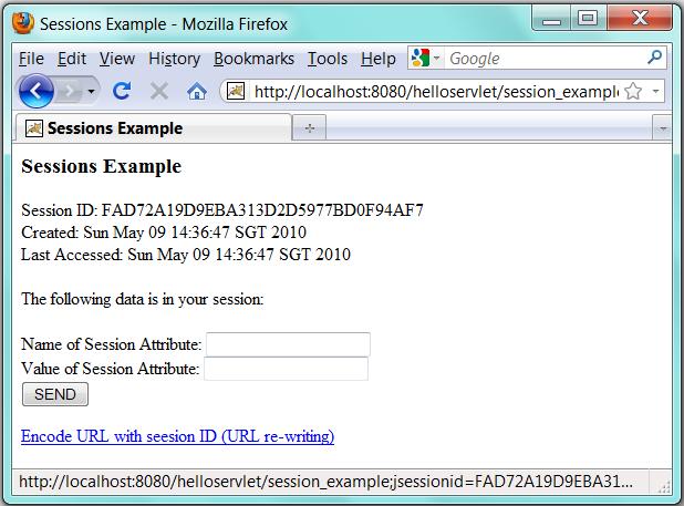 Tomcat's Java Servlet Examples Explained